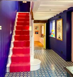 Be Colour Confident! Sophie Robinson solves your decorating dilemmas - Pink Velvet Sofa, Sophie Robinson, Plain Cushions, Mad About The House, Interior Design Courses, Favorite Paint Colors, Interiors Magazine, Rain Clouds