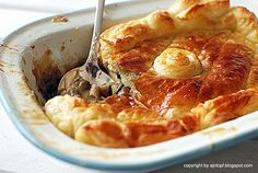 Jamie Oliver's chicken pie
