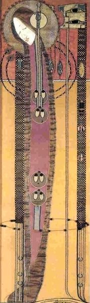 Vintage et cancrelats: Margaret MacDonald Mackintosh