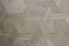 Parquet floor in hexagonal oak - natural looking gray - from Atelier des Granges Wood Floor Pattern, Floor Patterns, Wall Patterns, Textures Patterns, Wooden Pattern, Hexagon Pattern, Timber Flooring, Parquet Flooring, Hardwood Floor