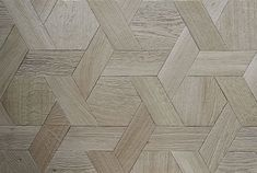 Hexagonal Timber Floor Pattern