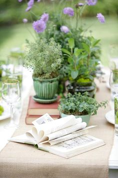 Herbs in Wedding Bouquets and Florals - Trends || Colin Cowie Weddings