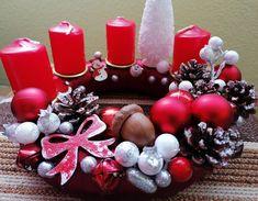 Ornament Wreath, Ornaments, Christmas Decorations, Wreaths, Home Decor, Decoration Home, Door Wreaths, Room Decor, Deco Mesh Wreaths