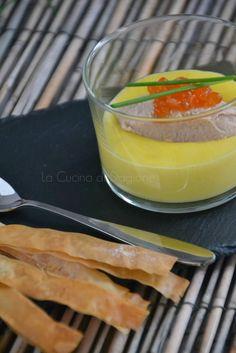 La Cucina di Stagione: Mousse di tonno e zabaglione salato
