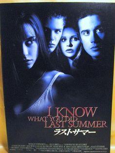 Movie Program Japan- I KNOW WHAT YOU DID LAST SUMMER /1998/ JENNIFER LOVE HEWITT