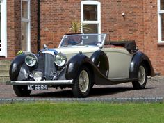 1939 LAGONDA LG6 4.5-LITRE SHORT WHEELBASE DROPHEAD COUPE - Lagonda works coachwork. First owner: Colonel Mark Mayhew of Cobham. Chassis No: 12357. Engine No: LG6/497/S4. Body No: Y558. Registration No: MG 6694.