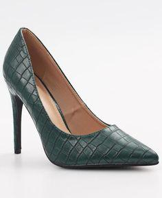 Tokyo - Green Killer Heels, Court Shoes, Sunnies, Stiletto Heels, Tokyo, Pumps, Green, Fashion, Moda