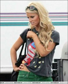 Jessica Simpson. She is my hair inspiration. I've always loved her hair!