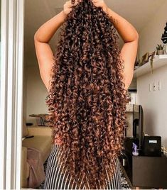 15 Most Cute Curly Hairstyles for Women Over 30 - Long Hairstyles Mixed Curly Hair, Colored Curly Hair, Curly Hair Tips, Curly Hair Care, Long Curly Hair, Curly Hair Styles, Natural Hair Styles, Curly Girl, Girl Hair