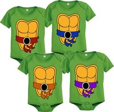 TMNT Turtle Baby Bodysuit