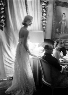 New Years party 1956, by Alfred Eisenstaedt.   Love to entertain.