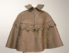 Cape c. 1895-1900 (via Manchester City Galleries) #turn_of_the_century #1890s