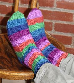 3bd4e48cb Learn-it   Knit-it  Toe-Up Socks. Magic LoopKnitting SocksRavelrySlippersSocksKnit  ...