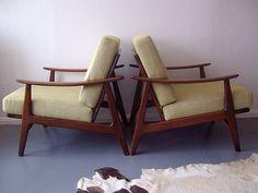 Moderne Mid century furniture Brighton \ pair of G Plan chairs