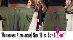 How to Alter a Size 18 Pants to a Size 8 (Weightloss Alterations) Sewing Pants, Sewing Clothes, Diy Clothes, Clothes For Women, Altering Pants, Altering Clothes, Refashioning Clothes, Slacks For Women, Scrub Pants