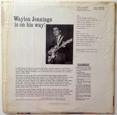Waylon Jennings Folk-Country LP Vinyl Record by ThisVinylLife