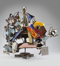 Robert Hudson | Marguerite | Mixed Media Sculpture | 41 x 48 x 43 inches