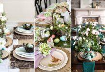 Πως να διακοσμήσεις το Πασχαλινό τραπέζι! Table Settings, Table Decorations, Furniture, Home Decor, Decoration Home, Room Decor, Place Settings, Home Furnishings, Home Interior Design