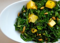 The Enchanted Cook: Massaged Kale Salad (inspired by Aarti Sequeira)