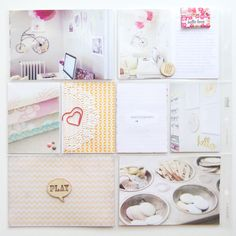 Lovely project life ideas I Carly Robertson