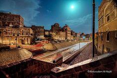 Old Sana'a -Yemen من سايلة صنعاء القديمة (تصوير: عبدالسلام النجدي )