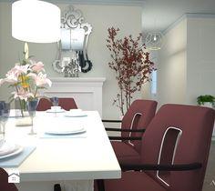 Aranżacja i projekt wnętrza domu w stylu GLAMOUR Dining Table, Furniture, Home Decor, Homemade Home Decor, Dinning Table Set, Home Furnishings, Interior Design, Dining Rooms, Dining Room Table
