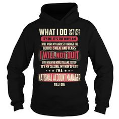 National Account Manager We Do Precision Guess Work Knowledge T-Shirts, Hoodies. SHOPPING NOW ==► https://www.sunfrog.com/Jobs/National-Account-Manager-Job-Title-T-Shirt-Black-Hoodie.html?id=41382