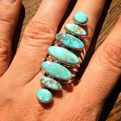 Super ring dry creek turquoise #harpo #harpoparis #turquoise #silver #seven #nativeamerican #beautiful #handmade #handcraft #accessory #woman #fashion #fashionweek #sun #summer #love #girl #jewel #ring #bague #instagram #like #follow #picoftheday #photodujour