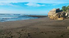 El Salvador, praia de Sunzal
