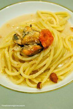 Barbie Magica Cuoca - blog di cucina: spaghetto con le cozze e crema di cannellini