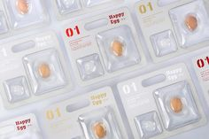 Happy Egg on Packaging of the World - Creative Package Design Gallery Drug Packaging, Medical Packaging, Blister Packaging, Bottle Packaging, Cosmetic Packaging, Brand Packaging, Paper Packaging, Design Packaging, Branding Design