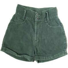 OFF SALE vintage shorts corduroy high waisted green size small s Vintage High Waisted Shorts, Vintage Shorts, Summer Outfits, Casual Outfits, Fashion Outfits, Fashion Hacks, Fashion Goth, Work Fashion, Ladies Fashion