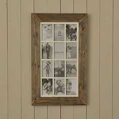 Searching for picture frames or photo frames? Explore our delightful range of unique and innovative frames made or sourced by the UK's best small creative businesses. Natural Candles, Natural Wood, Handmade Furniture, Diy Furniture, Multi Picture Frames, Collage Frames, Diy Frame, Discount Designer, Home Accessories