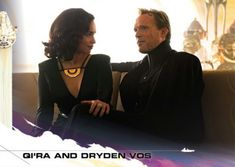 #Topps Countdown To #Solo: A #StarWars Story - Qi'ra And Dryden Vos #StarWars
