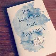 Harry potter. Hermione: Its Leviosa not LeviosA