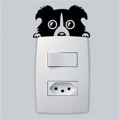 Adesivo para Interruptor - Cachorrinho 2
