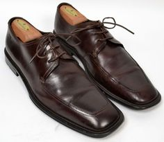 HUGO BOSS Brown 3-Eye Derby Mens Dress Shoes Size 7 #HugoBoss #Oxfords