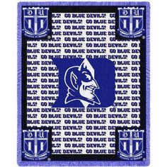 Pure Country Weavers Duke University Go Bluedevils Throw - 4783-A