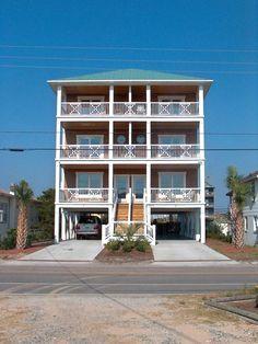 Townhome vacation rental in Carolina Beach from VRBO.com! #vacation #rental #travel #vrbo