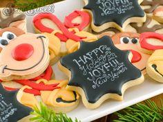 10x chalkboard taarten en koekjes - Laura's Bakery #chalkboard #cookie