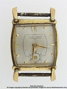 Mouse over image to zoom                                                                                                                                                                                                   Have one to sell? Sell it yourself         Ulysse Nardin Odd Shape Mens Vintage Deco 17J Chronometer Wrist Watch Movement
