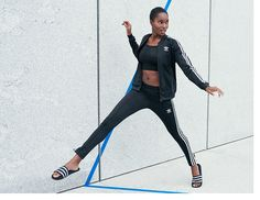 adidas activewear and shoes for women.