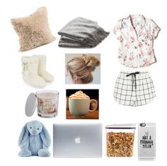 """""""Netflix and chill"""" by alshaikh-hamda on Polyvore featuring Incase, OXO, Hollister Co., Topshop, Accessorize, Casetify, SONOMA Goods for Life, Jellycat and Crate and Barrel"""