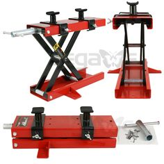 New 1100 LB Mini Scissor Lift Jack ATV Motorcycle Dirt Bike Scooter Crank Stand #Unbranded