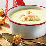 Creamy Leek and Fennel Soup Fennel Soup, Leek Soup, Pureed Food Recipes, Soup Recipes, Canadian Living Recipes, Mindful Eating, Soups And Stews, Cheeseburger Chowder, Nom Nom
