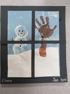 Mrs. Karen's Preschool Ideas: Baby It's Cold Outside!