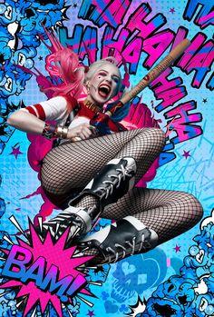 Harley Quinn Halloween, Harley Quinn Cosplay, Joker And Harley Quinn, Hearly Quinn, Harley Quinn Drawing, Margot Robbie Harley Quinn, Daddys Lil Monster, Cute Disney Drawings, Joker Wallpapers