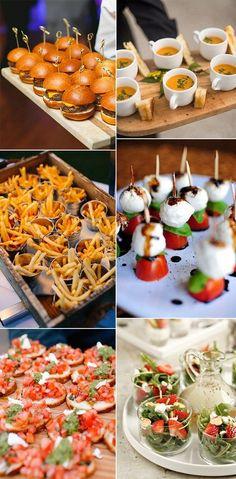 creative wedding food ideas 2018 trends