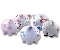 Alcancía Marranitos de cerámica / piggy  moneybox