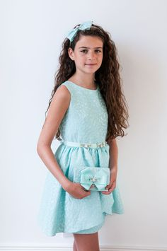 Turquoise Summer Party Dress - David Charles